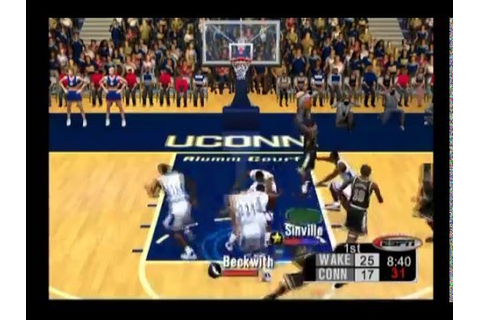 ESPN College Hoops 2K5 ... (PS2) - YouTube