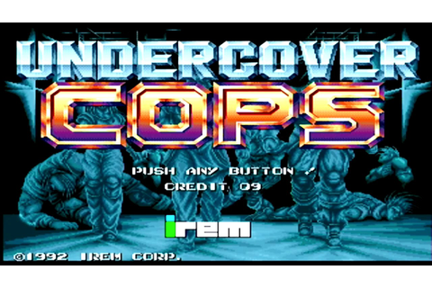 Undercover Cops (1992) - (Full Game) Arcade Longplay [040 ...