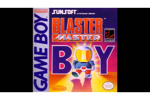 VGM Hall Of Fame: Blaster Master Boy - Main Theme (GB ...