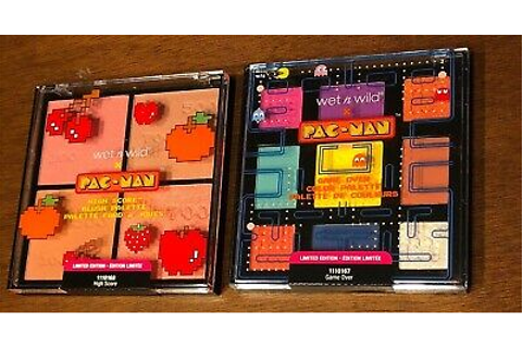 PACMAN Game Over Color Palette & Highscore Blush Palette ...