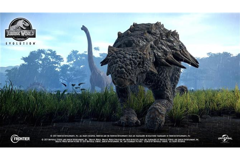 More Jurassic World Evolution Species Profiles