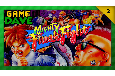 Mighty Final Fight NES Review | Game Dave - YouTube