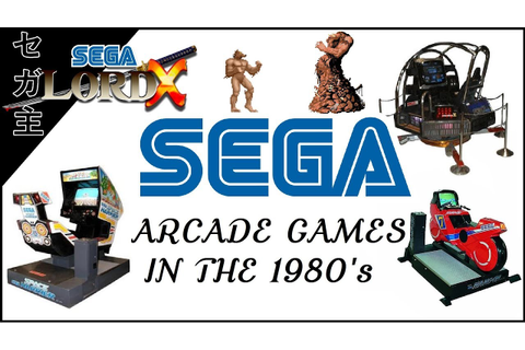 Sega Arcade Games in the 1980's - YouTube