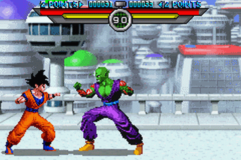 Play Dragon Ball Z - Taiketsu Nintendo Game Boy Advance ...