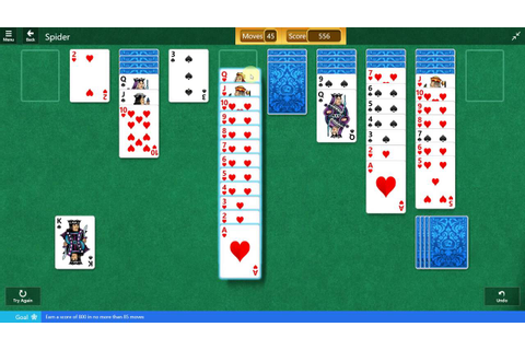 Microsoft Solitaire Collection - Spider - September 20 ...
