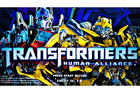 Let's Play Transformers Human Alliance Arcade 2P Noob Play ...