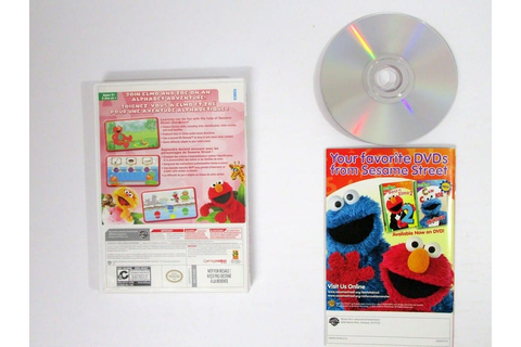 Sesame Street: Elmo's A-To-Zoo Adventure game for Wii ...