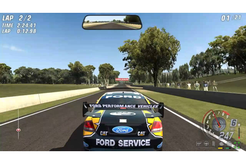 V8 Supercars 3 [Toca Race Driver 3] PC Gameplay - YouTube