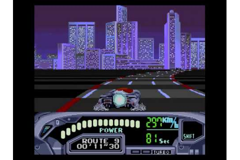 Sega Genesis games - OutRun 2019 - stage 4 + ending - YouTube