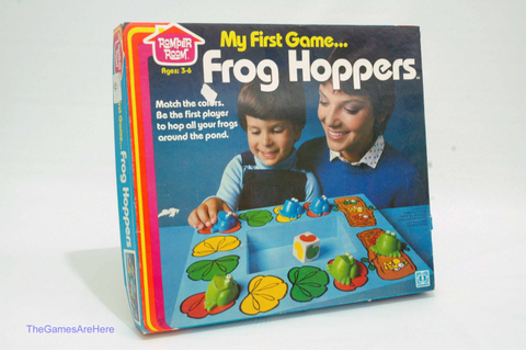 Frog Hoppers Game Romper Room from Hasbro 1980 COMPLETE
