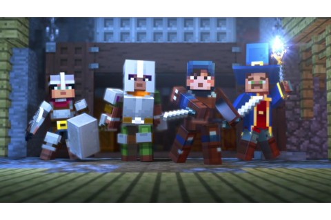Minecraft: Dungeons Announced for PC - IGN