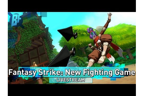 Fantasy Strike: New 2D fighting game from Street Fighter ...
