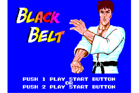 Play Black Belt Sega Master System online | Play retro ...