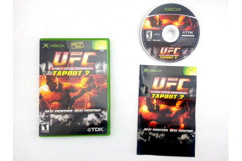 UFC Tapout 2 game for Xbox (Complete) | The Game Guy