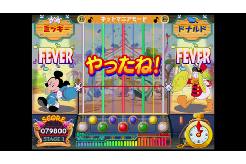 pop'n music MICKEY TUNES! プロフェッショナルコース - YouTube