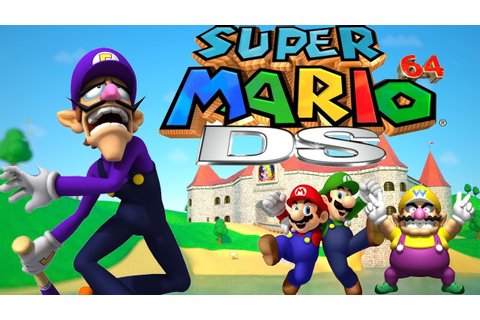 Why Waluigi Wasn't In Super Mario 64 DS - YouTube