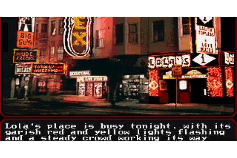 The Adventure Gamer: Game 31: Mean Streets - Top Heavy ...