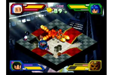 VS Play ~ Saturn Bomberman Fight !! - YouTube