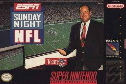 Retro Game Guide - SNES - ESPN Sunday Night NFL