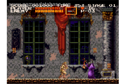 Castlevania Chronicles - Sony Playstation - Games Database