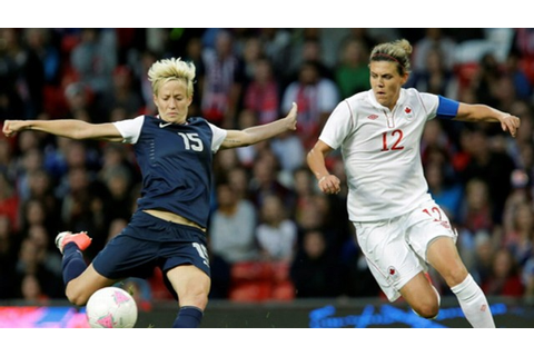 Olympic Games 2012: Women's Soccer Defeats Team Canada in ...