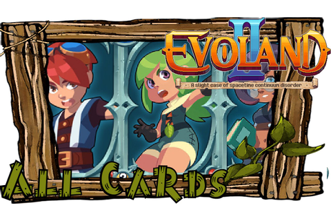 EVOLAND 2 All Card Locations | Game of Cards | Collector ...