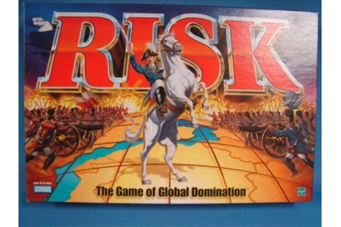 1999 Risk- Game of Global Domination with miniature pieces ...