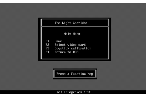 The Light Corridor - Play Online Classic Games