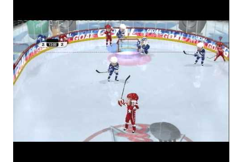 3 ON 3 NHL ARCADE (PS3) GAMEPLAY - YouTube