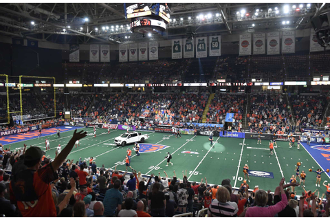Arena Football games are shorter, but at a cost