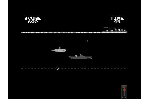 Arcade Game: Destroyer (1977 Atari) - YouTube