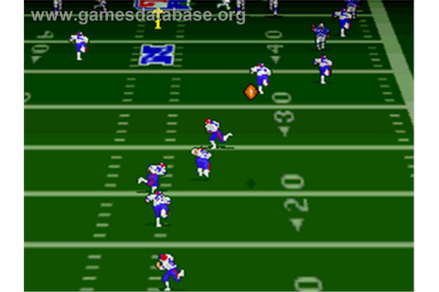 Troy Aikman NFL Football - Nintendo SNES - Games Database