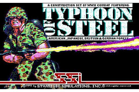 Typhoon of Steel Download (1991 Strategy Game)