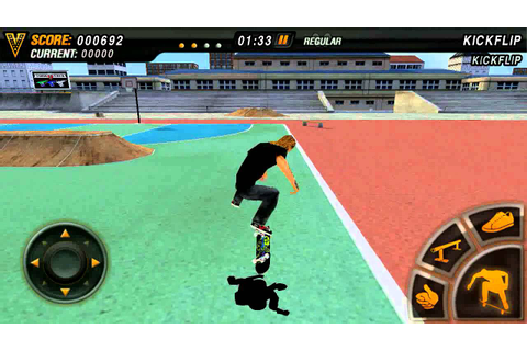 Best skateboarding game for Android - YouTube