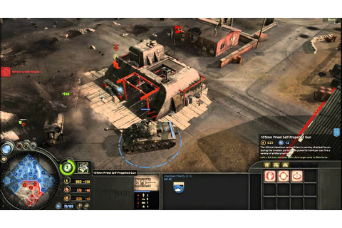 Company of Heroes Opposing Fronts Gameplay - YouTube