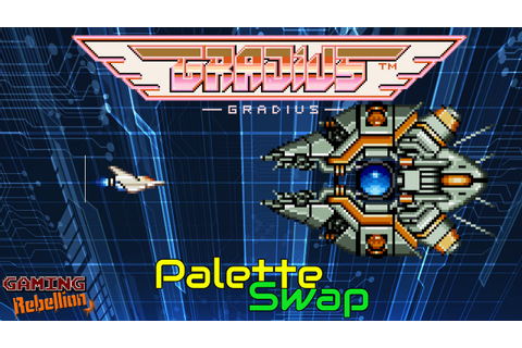 Gradius NES vs Arcade | Palette Swap | Feat. Westapo - YouTube