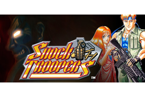SHOCK TROOPERS on Steam