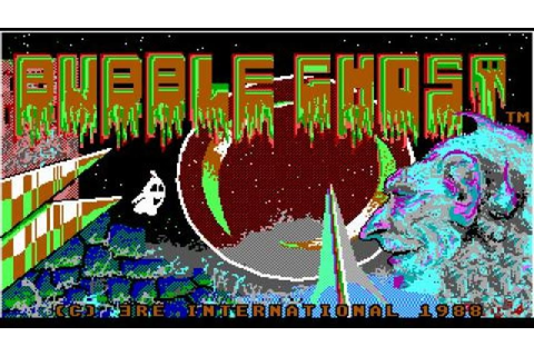 Bubble Ghost gameplay (PC Game, 1987) - YouTube