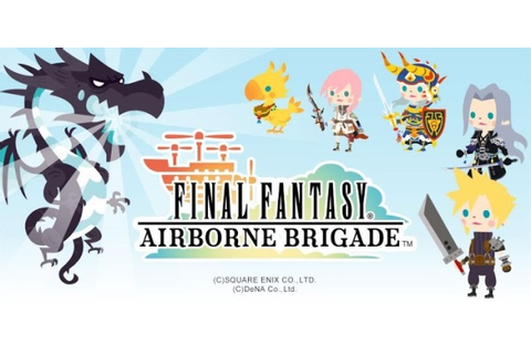 Final Fantasy Airborne Brigade now available on Google Play