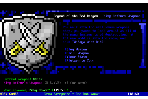 Download Legend of the Red Dragon - My Abandonware
