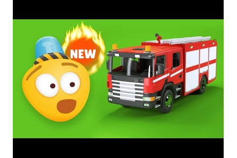 Fire Brigade | Fire Trucks – Educational Сartoon Video for ...