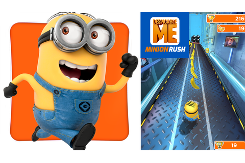 [Games] Despicable me: Minion Rush - Hello! Welcome to my ...