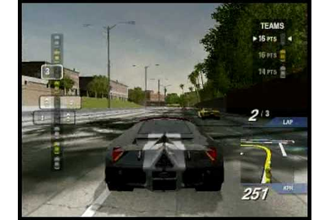 Ford Street Racing Gameplay - Team Race - High Performance ...