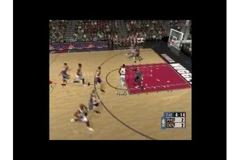 NBA 2K1 Dreamcast Gameplay - YouTube