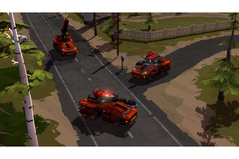 Forged Battalion revealed, a new RTS from the ex-Westwood ...