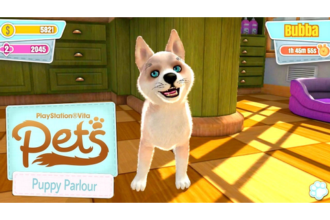 Let's Play PlayStation Vita Pets: Puppy Parlour on iOS ...