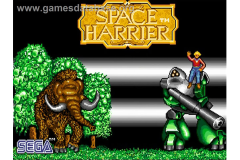 Space Harrier - Commodore Amiga - Games Database