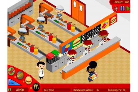 McDonalds Video Game - free game | fullgames.sk