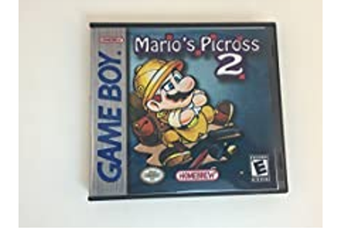 Amazon.com: Mario's Picross 2 - Nintendo GB - GameBoy ...