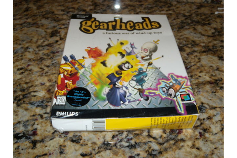 Gearheads Game Macintosh (Mac, Game) Brand (New and Sealed ...